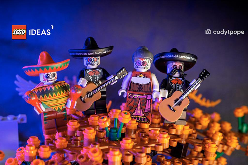 LEGO Ideas Zoom Background