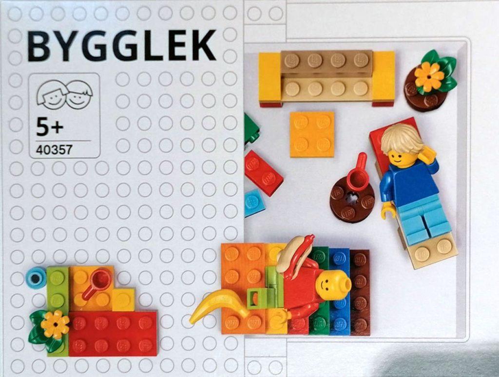 LEGO Ikea 40357 BYGGLEK