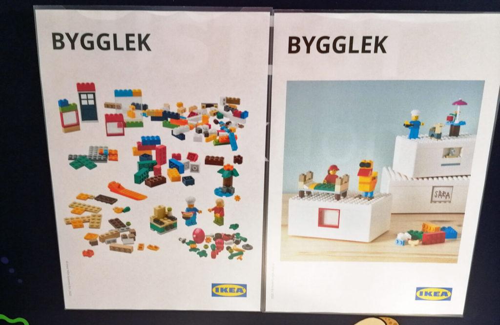 LEGO Ikea BYGGLEK 1