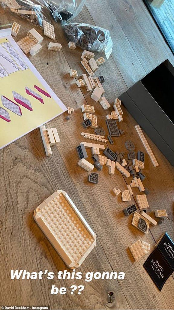 LEGO Instinct David Becham 2