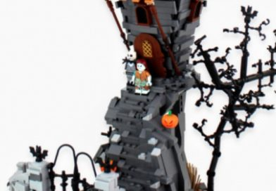 Get in the Halloween spirit with this LEGO The Nightmare Before Christmas build