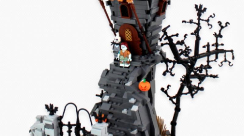LEGO Jack Skellington House Featured