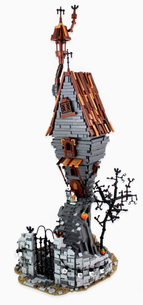 LEGO Jack Skellington House