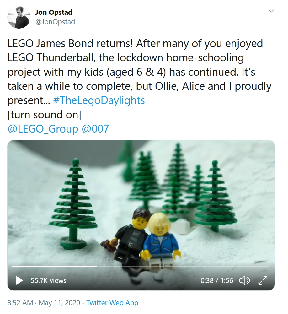 LEGO James Bond The Living Daylights
