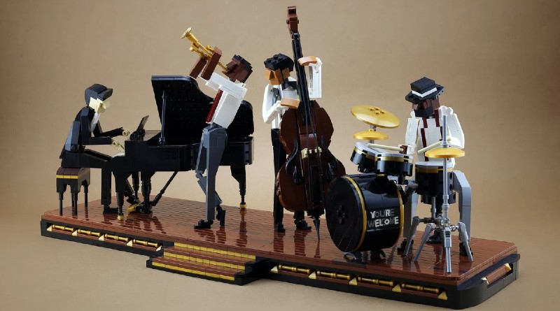 LEGO Jazz Quartet Ideas Featured