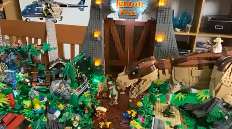 LEGO Jurassic Park Featured