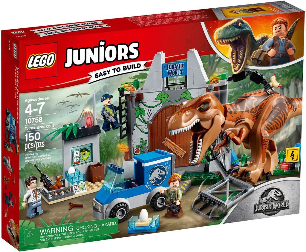 LEGO Jurassic World 10758 T. Rex Breakout Box 1