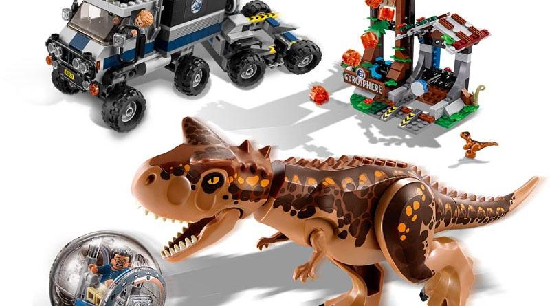 LEGO Jurassic World 75929 Carnotosaurus Escape Featured 800 445