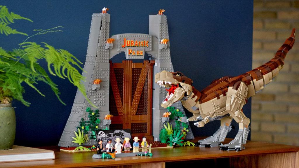 LEGO Jurassic World 75936 Jurassic Park T. Rex Rampage lifestyle 1 resized featured