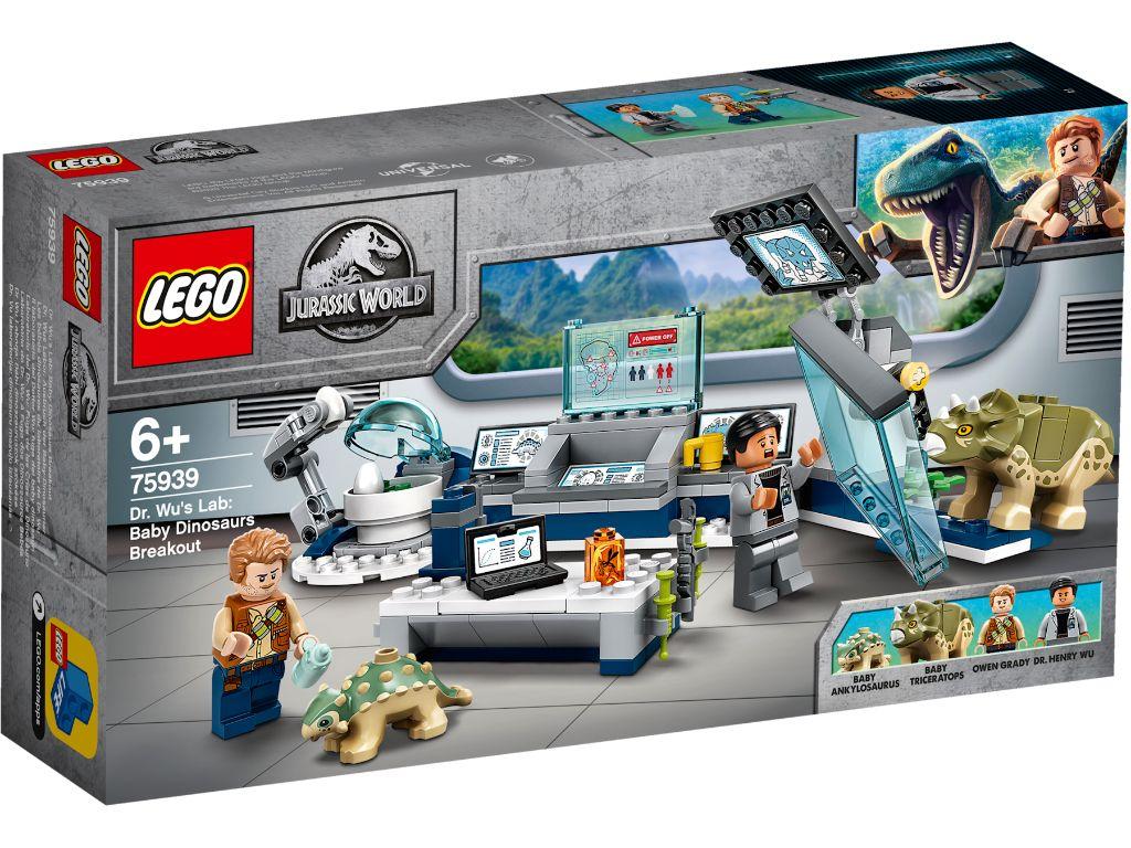 LEGO Jurassic World 75939 Dr Wus Lab Baby Dinosaur Breakout 1