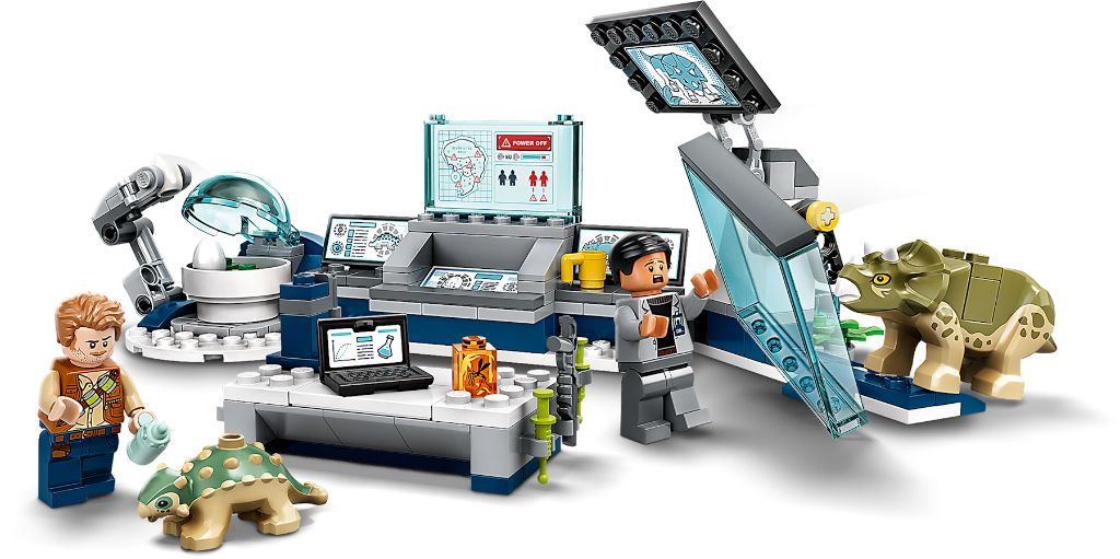 LEGO Jurassic World 75939 Dr Wus Lab Baby Dinosaur Breakout 4