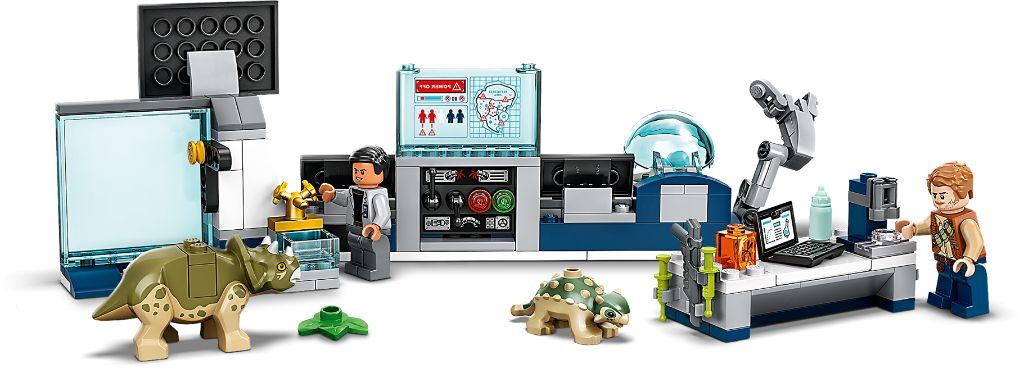 LEGO Jurassic World 75939 Dr Wus Lab Baby Dinosaur Breakout 5