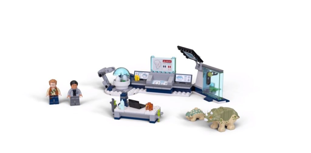 LEGO Jurassic World 75939 Dr Wus Laboratory