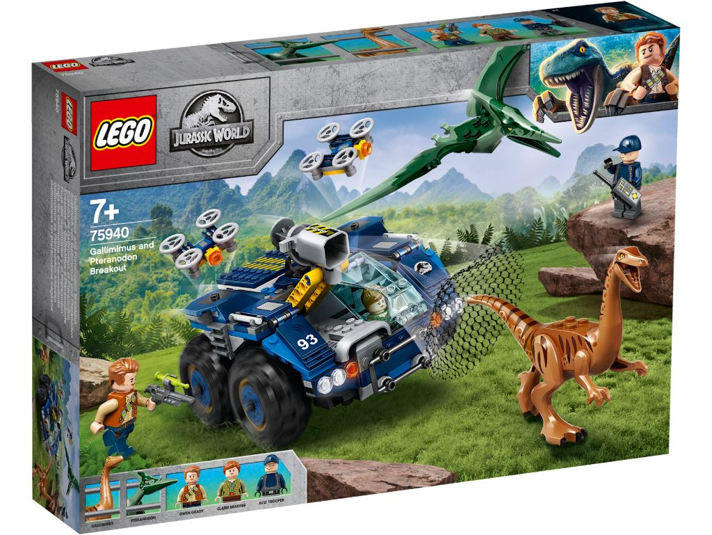 LEGO Jurassic World 75940 Gallimimus And Pteranodon Breakout 1