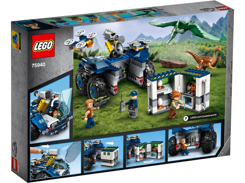 LEGO Jurassic World 75940 Gallimimus And Pteranodon Breakout 2