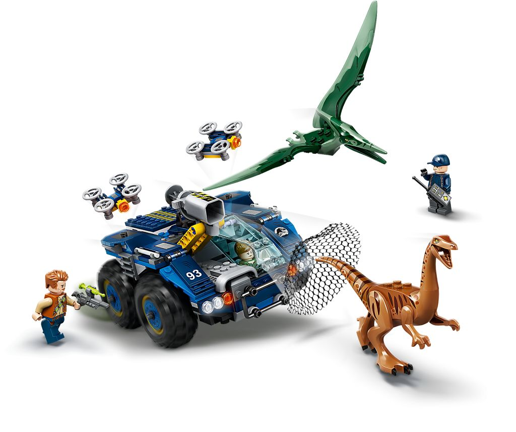 LEGO Jurassic World 75940 Gallimimus And Pteranodon Breakout 4