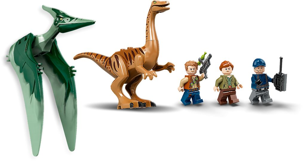 LEGO Jurassic World 75940 Gallimimus And Pteranodon Breakout 9