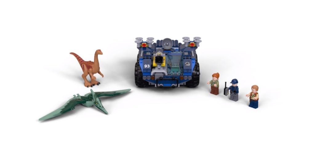 LEGO Jurassic World 75940 Gallimimus And Pteranodon Hunt