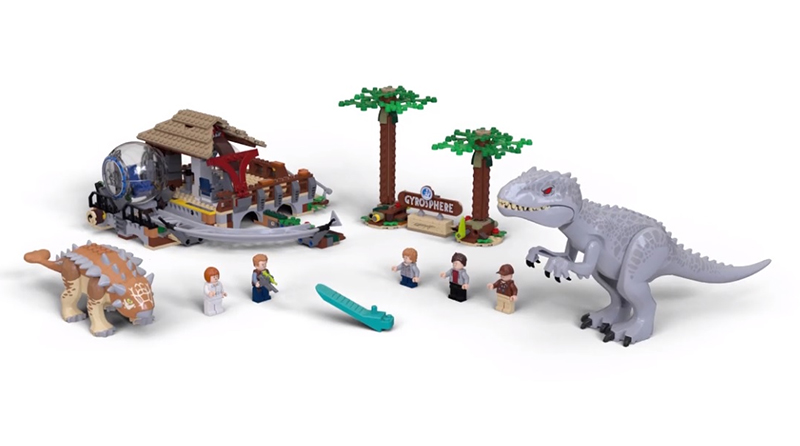 LEGO Jurassic World 75941 Gyrosphere Ride