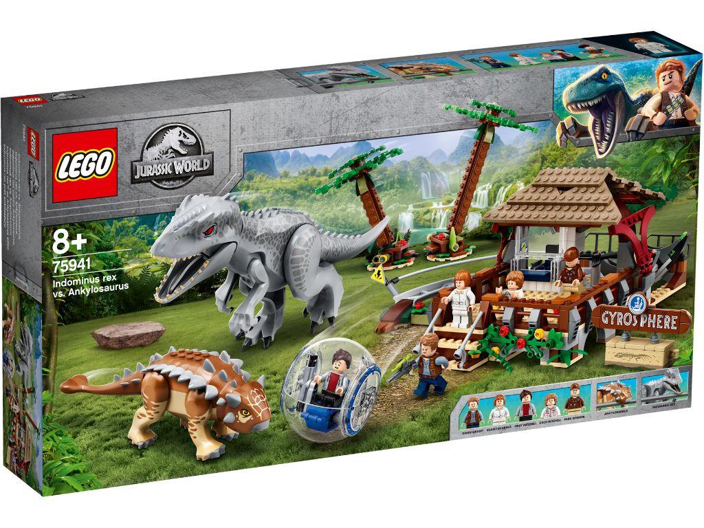 LEGO Jurassic World 75941 Indominous Rex Vs Ankylosaurus 1