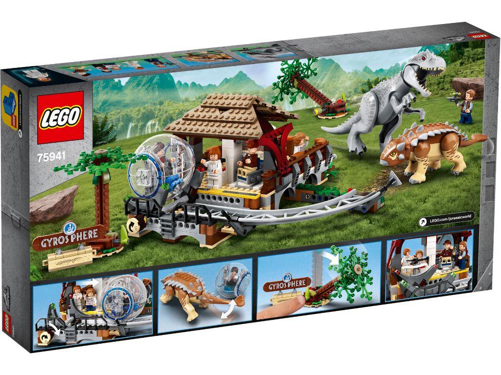 LEGO Jurassic World 75941 Indominous Rex Vs Ankylosaurus 2