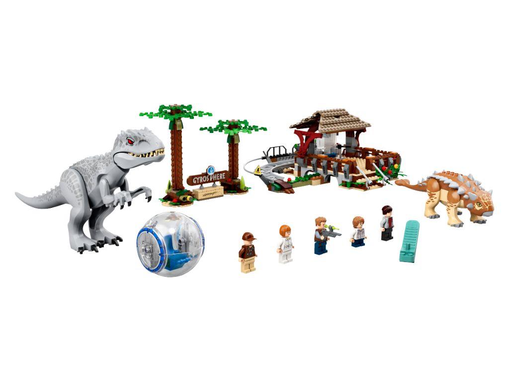 LEGO Jurassic World 75941 Indominous Rex Vs Ankylosaurus 3