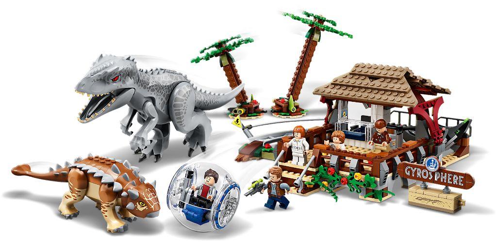 LEGO Jurassic World 75941 Indominous Rex Vs Ankylosaurus 4