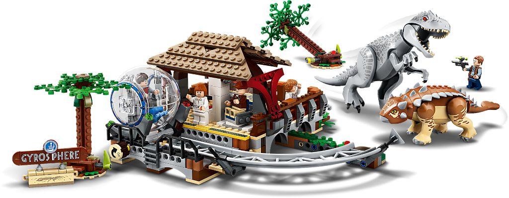 LEGO Jurassic World 75941 Indominous Rex Vs Ankylosaurus 5