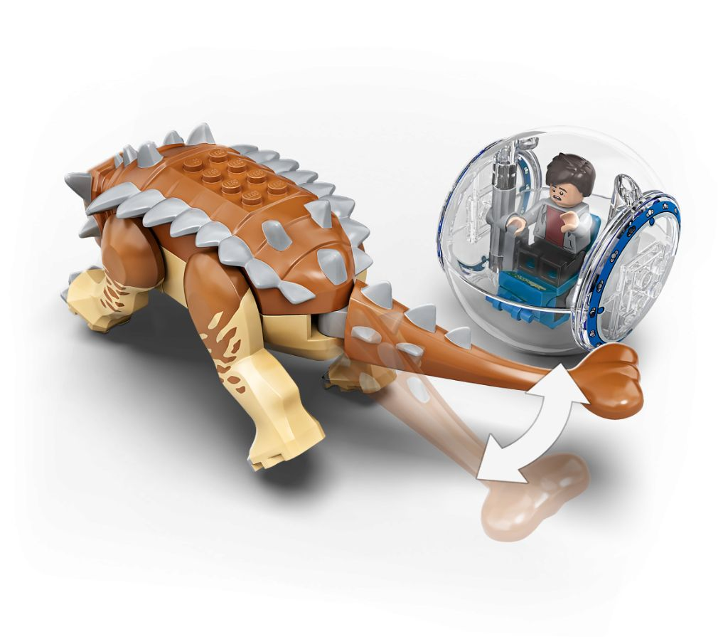 LEGO Jurassic World 75941 Indominous Rex Vs Ankylosaurus 7