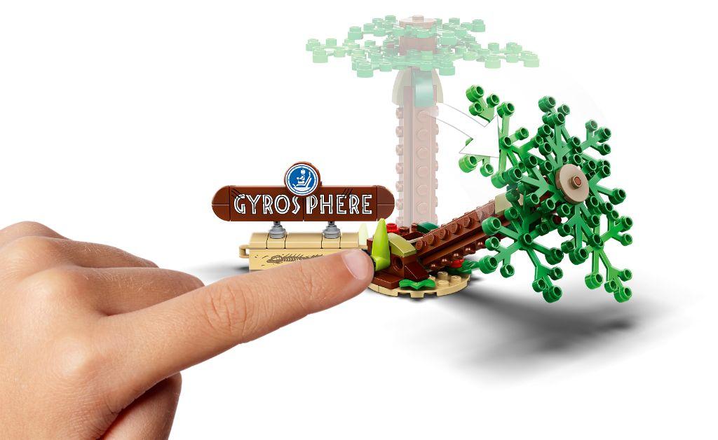 LEGO Jurassic World 75941 Indominous Rex Vs Ankylosaurus 8