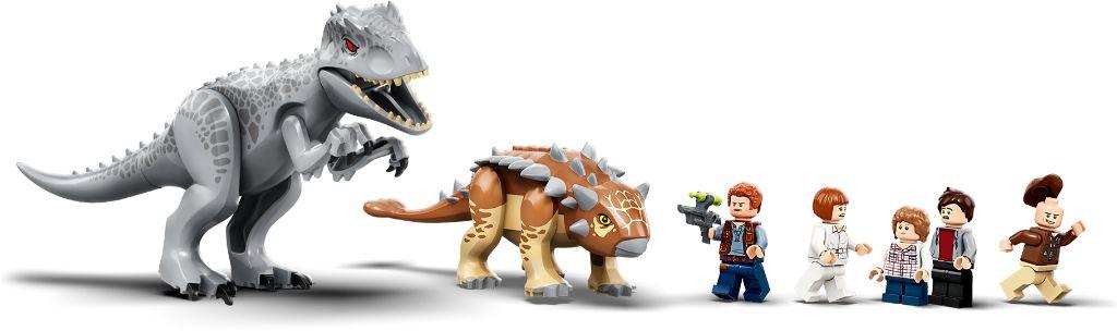 LEGO Jurassic World 75941 Indominous Rex Vs Ankylosaurus 9