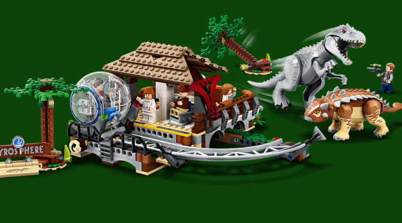 LEGO Jurassic World 75941 Indominous Rex Vs Ankylosaurus Featured 1 800x445