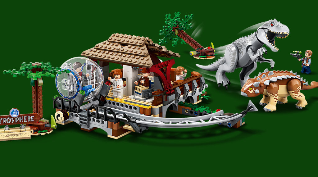 LEGO Jurassic World 75941 Indominous Rex Vs Ankylosaurus Featured 1