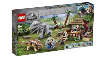 LEGO Jurassic World 75941 Indominous Rex vs Ankylosaurus