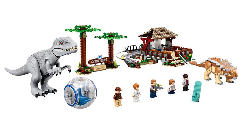 LEGO Jurassic World 75941 Indominus Rex Vs Ankylosaurus Featured