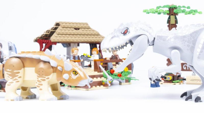 LEGO Jurassic World 75941 Indominus Rex Vs Ankylosaurus Featured 2 800x445