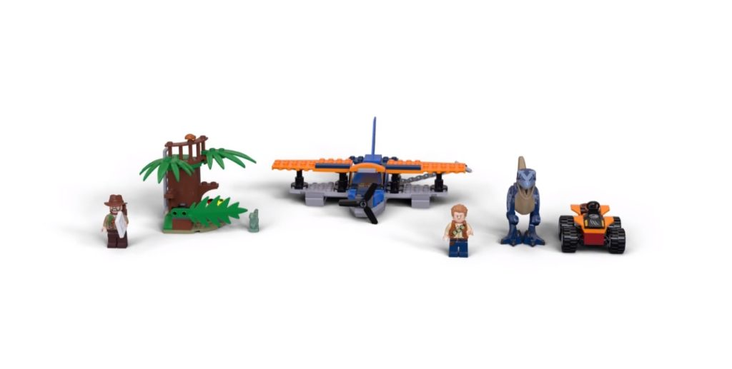 LEGO Jurassic World 75942 Land And Water Tracking
