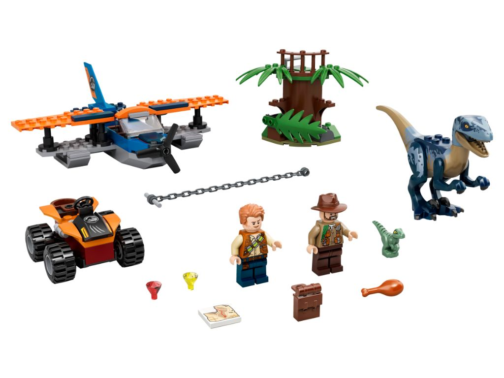 LEGO Jurassic World 75942 Velociraptor Biplane Rescue Mission 3