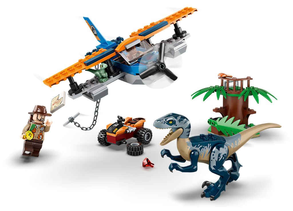 LEGO Jurassic World 75942 Velociraptor Biplane Rescue Mission 4