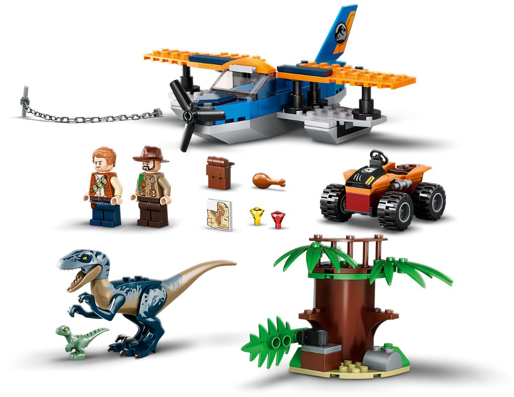LEGO Jurassic World 75942 Velociraptor Biplane Rescue Mission 5