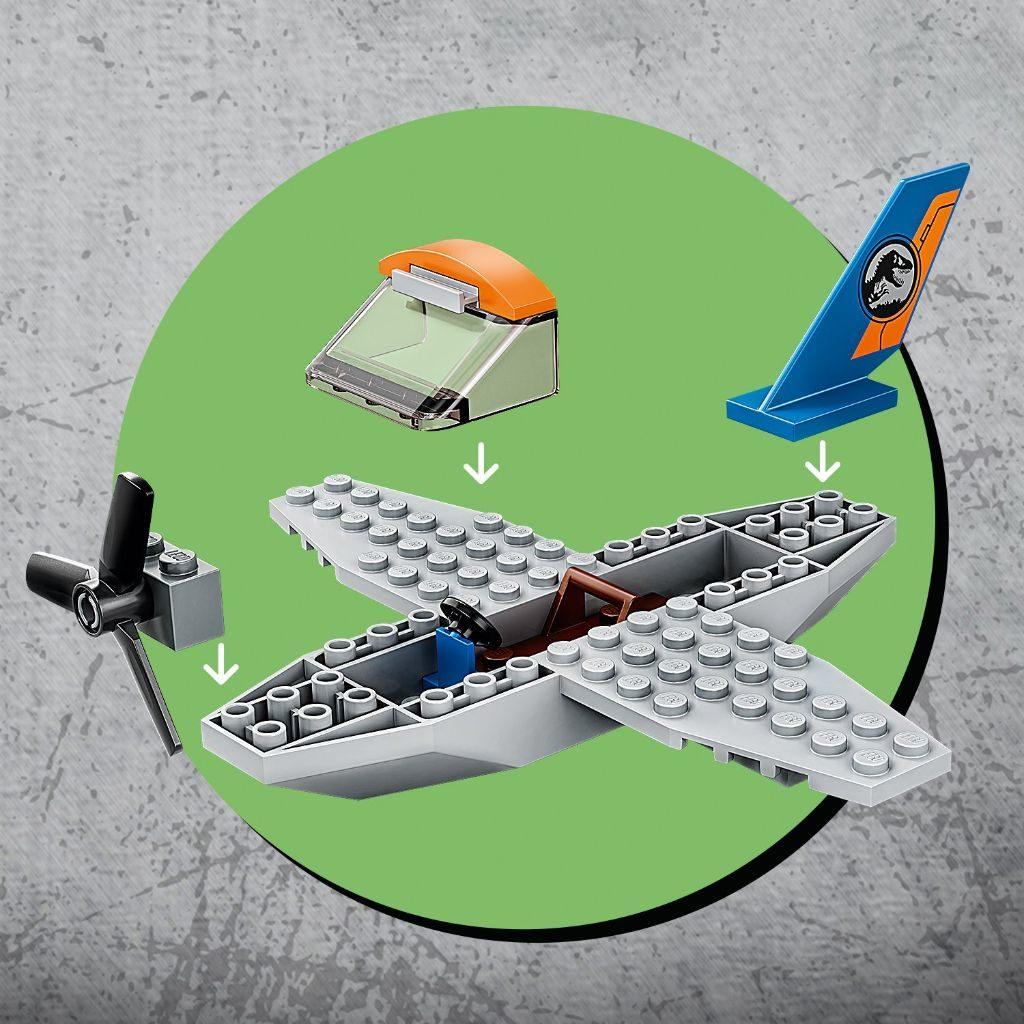 LEGO Jurassic World 75942 Velociraptor Biplane Rescue Mission 8 1024x1024