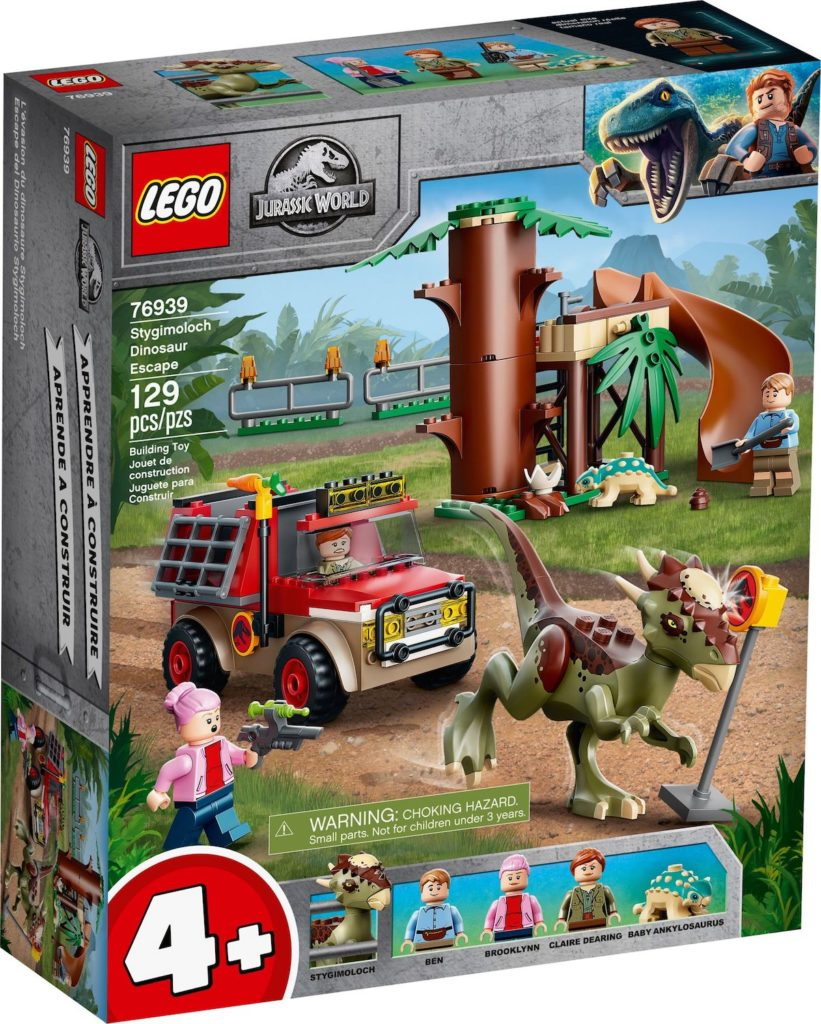LEGO Jurassic World 76939 Stygimoloch Dinosaur Escape 1