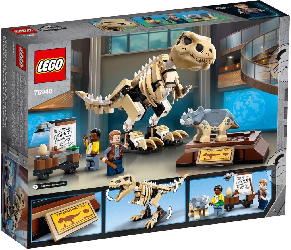 LEGO Jurassic World 76940 T. rex Dinosaur Fossil Exhibition 2