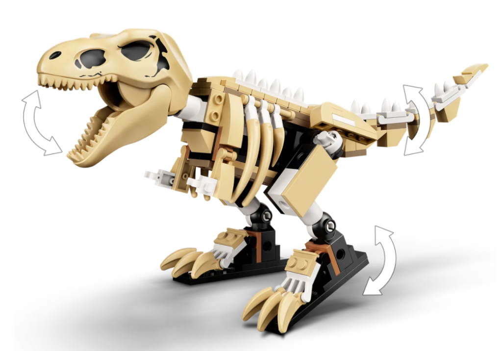 Lego Jurassic World 76940 T.rex Dinosaur ကျောက်ဖြစ်ရုပ်ကြွင်း