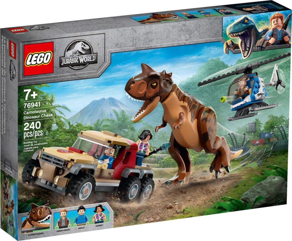 LEGO Jurassic World 76941 Carnotaurus Dinosaur Chase 1