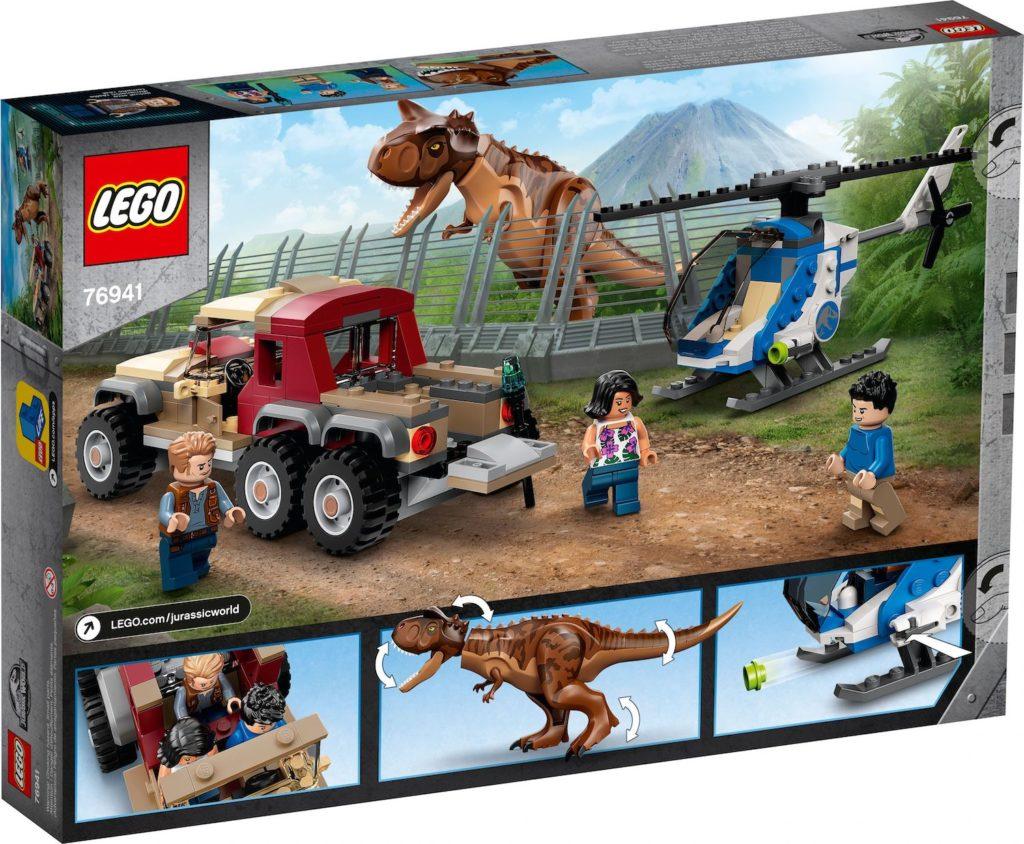 LEGO Jurassic World 76941 Carnotaurus Dinosaur Chase 2