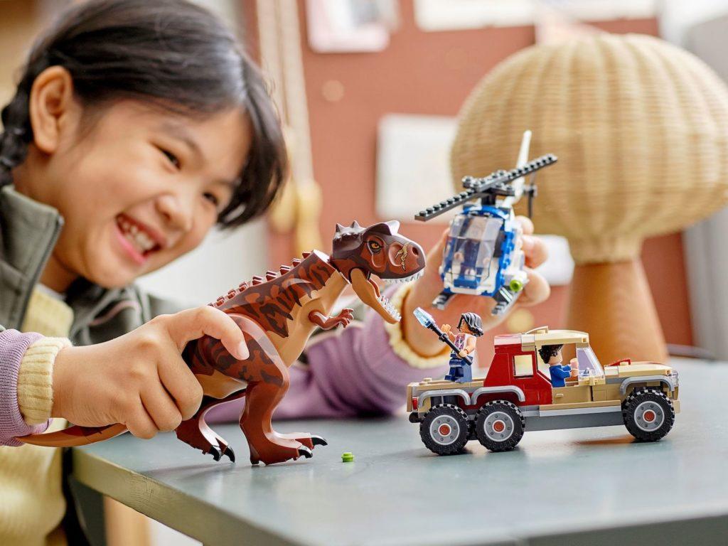 LEGO Jurassic World 76941 Carnotaurus Dinosaur Chase 5
