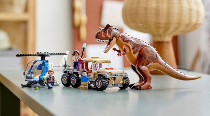 LEGO Jurassic World 76941 Carnotaurus Dinosaur Chase featured resized