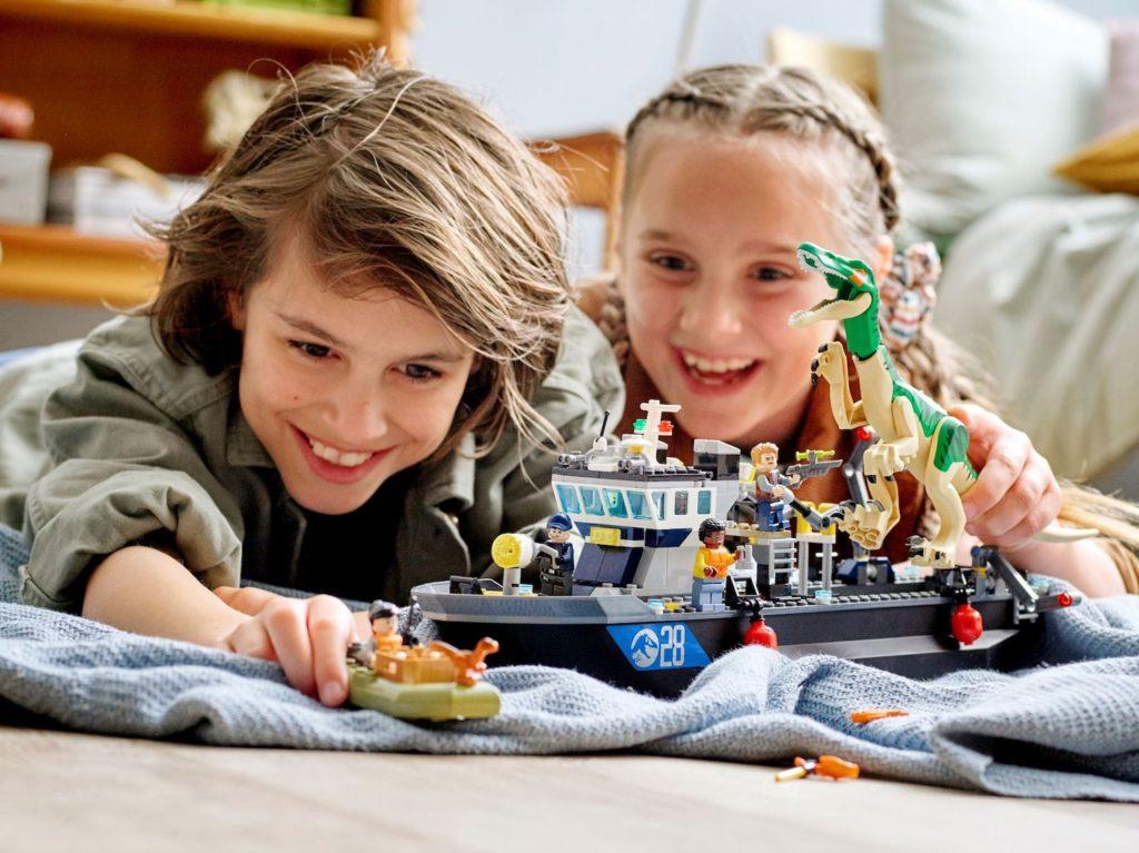 LEGO Jurassic World 76942 Baryonyx Dinosaur Boat Escape 5