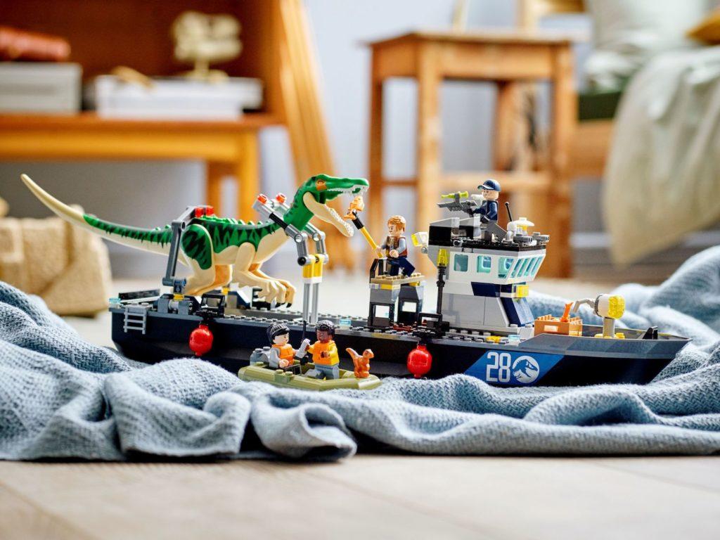LEGO Jurassic World 76942 Baryonyx Dinosaur Boat Escape 6